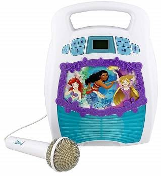Disney Princess Bluetooth Portable MP3 Karaoke Machine