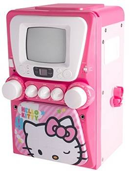 Hello Kitty 68109 CD Karaoke System review