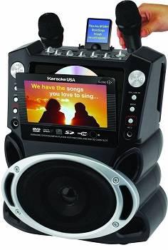 Karaoke USA Karaoke System with 7-Inch OLD MODEL GF829