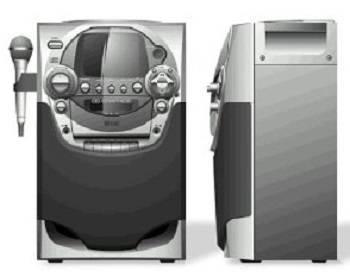 Memorex Karaoke System MKS5620 review
