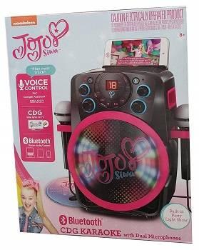 Nickelodeon JoJo Siwa CDG Bluetooth Karaoke with Dual Microphones review