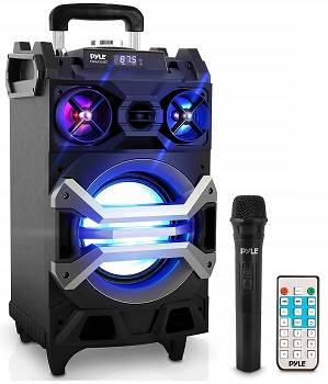 Pyle 500 Watt Outdoor Portable BT Connectivity Karaoke Speaker System PWMA325BT