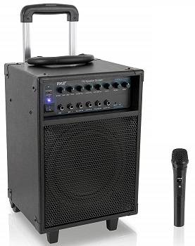 Pyle Wireless Portable PA Speaker System PWMA230BT
