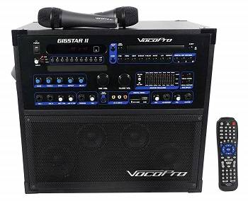 VocoPro Gigstar II Portable 100W 4
