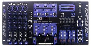 VocoPro KJ-7808RV Professional KJDJVJ Mixer