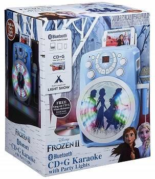 Frozen 2 Bluetooth CDG Karaoke Machine review