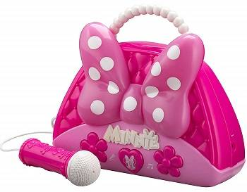 ekids Minnie Mouse Voice Change Boombox with Microphone